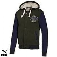 Men's Puma Buttoned up fleece winter jacket (568980-02)(Option 1) x9 £19.95